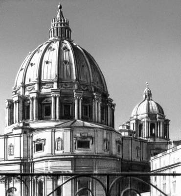 и купол собора св. Петра в