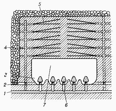 подземная самоходная буровая установка
